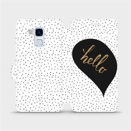 Flipové pouzdro Mobiwear na mobil Honor 7 Lite - M013P Golden hello