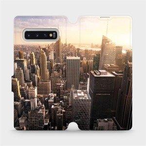 Flipové pouzdro Mobiwear na mobil Samsung Galaxy S10 Plus - M138P New York