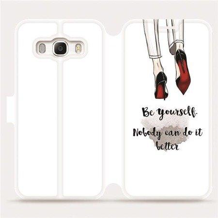 Flipové pouzdro Mobiwear na mobil Samsung Galaxy J5 2016 - M046P Be yourself