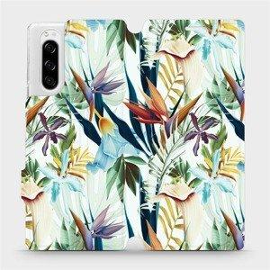 Flipové pouzdro Mobiwear na mobil Sony Xperia 5 - M071P Flóra