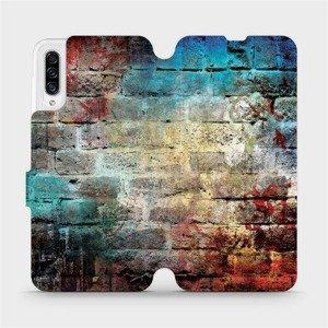 Flipové pouzdro Mobiwear na mobil Samsung Galaxy A30s - V061P Zeď