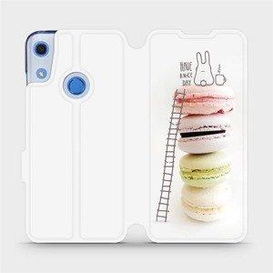 Flipové pouzdro Mobiwear na mobil Huawei Y6S - M090P Makronky - have a nice day