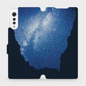 Flipové pouzdro Mobiwear na mobil LG Velvet - M146P Galaxie