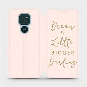 Flipové pouzdro Mobiwear na mobil Motorola Moto G9 Play - M014S Dream a little