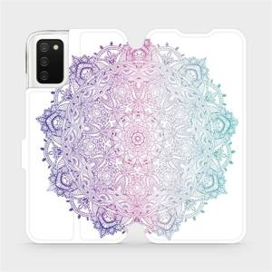 Flipové pouzdro Mobiwear na mobil Samsung Galaxy A02s - M008S Mandala