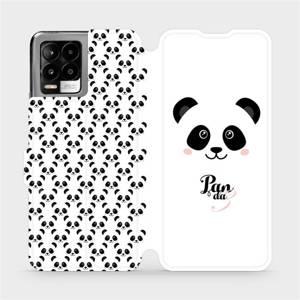 Flip pouzdro Mobiwear na mobil Realme 8 Pro - M030P Panda Amálka