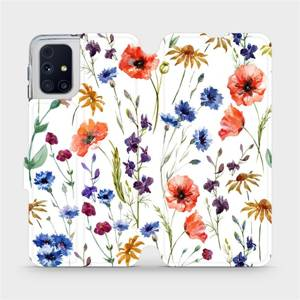 Flip pouzdro Mobiwear na mobil Samsung Galaxy M31s - MP04S Luční kvítí
