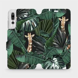 Flip pouzdro Mobiwear na mobil Huawei P20 Pro - VP06P Žirafky