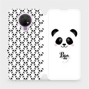 Flip pouzdro Mobiwear na mobil Nokia G10 - M030P Panda Amálka
