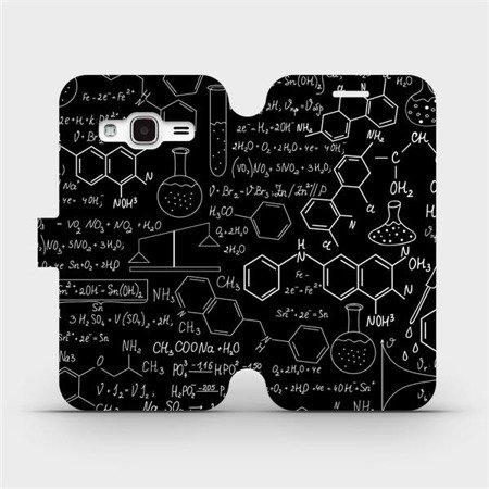 Flipové pouzdro Mobiwear na mobil Samsung Galaxy J3 2016 - V060P Vzorečky