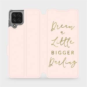 Flip pouzdro Mobiwear na mobil Samsung Galaxy M22 - M014S Dream a little