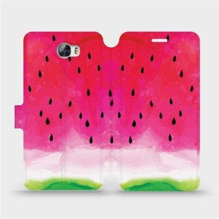Flipové pouzdro Mobiwear na mobil Huawei Y6 II Compact - V086S Melounek