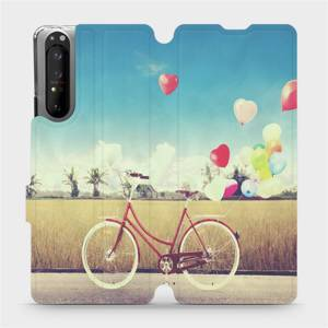 Flipové pouzdro Mobiwear na mobil Sony Xperia 1 II - M133P Kolo a balónky
