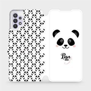 Flipové pouzdro Mobiwear na mobil Samsung Galaxy A32 5G - M030P Panda Amálka