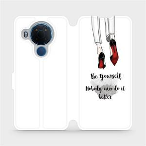 Flipové pouzdro Mobiwear na mobil Nokia 5.4 - M046P Be yourself