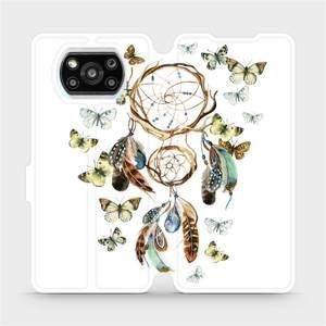 Flipové pouzdro Mobiwear na mobil Xiaomi Poco X3 Pro - M001P Lapač a motýlci