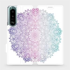 Flip pouzdro Mobiwear na mobil Sony Xperia 5 III - M008S Mandala