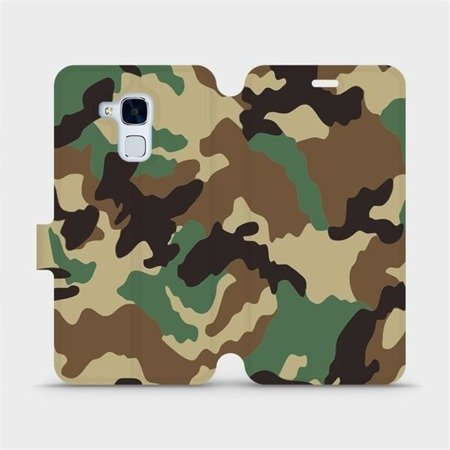 Flipové pouzdro Mobiwear na mobil Honor 7 Lite - V111P Maskáče