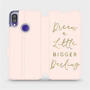 Flipové pouzdro Mobiwear na mobil Xiaomi Redmi Note 7 - M014S Dream a little
