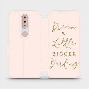 Flipové pouzdro Mobiwear na mobil Nokia 4.2 - M014S Dream a little