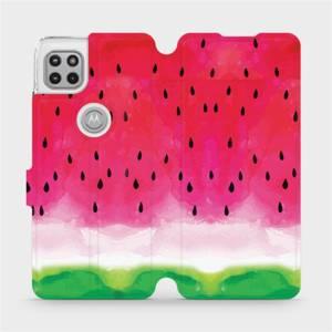 Flipové pouzdro Mobiwear na mobil Motorola Moto G 5G - V086S Melounek
