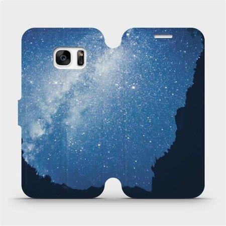 Flipové pouzdro Mobiwear na mobil Samsung Galaxy S7 Edge - M146P Galaxie