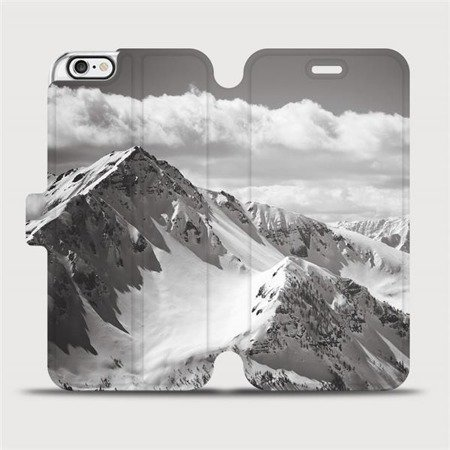 Flipové pouzdro Mobiwear na mobil Apple iPhone 6 / iPhone 6s - M152P Velehory