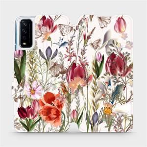 Flip pouzdro Mobiwear na mobil Vivo Y11S - MP01S Rozkvetlá louka