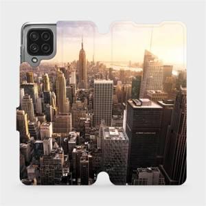 Flip pouzdro Mobiwear na mobil Samsung Galaxy M22 - M138P New York