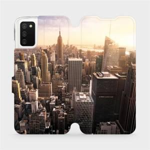 Flip pouzdro Mobiwear na mobil Samsung Galaxy A03s - M138P New York