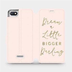 Flipové pouzdro Mobiwear na mobil Xiaomi Redmi 6A - M014S Dream a little