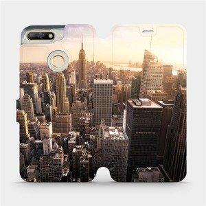 Flipové pouzdro Mobiwear na mobil Honor 7A - M138P New York