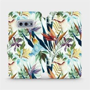 Flipové pouzdro Mobiwear na mobil Samsung Galaxy S10e - M071P Flóra