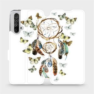 Flipové pouzdro Mobiwear na mobil Realme X3 SuperZoom - M001P Lapač a motýlci