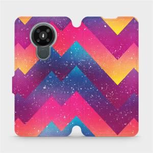 Flipové pouzdro Mobiwear na mobil Nokia 3.4 - V110S Barevné klikyháky