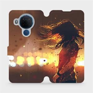 Flipové pouzdro Mobiwear na mobil Nokia 5.4 - MA02S Tetovaná dívka