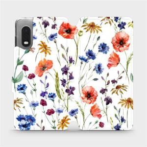Flip pouzdro Mobiwear na mobil Samsung Galaxy Xcover Pro - MP04S Luční kvítí