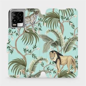 Flip pouzdro Mobiwear na mobil Realme 8 Pro - MP08S Dvě kočičky
