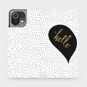 Flip pouzdro Mobiwear na mobil Xiaomi 11 Lite 5G NE - M013P Golden hello