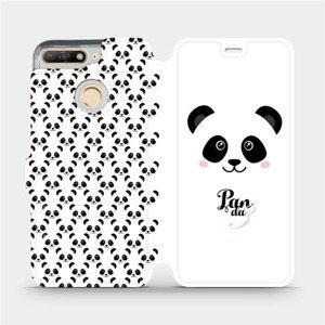 Flipové pouzdro Mobiwear na mobil Huawei Y6 Prime 2018 - M030P Panda Amálka