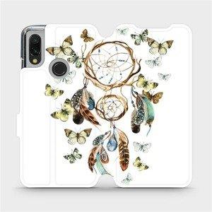 Flipové pouzdro Mobiwear na mobil Xiaomi Redmi 7 - M001P Lapač a motýlci