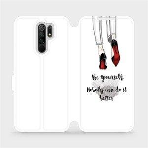 Flipové pouzdro Mobiwear na mobil Xiaomi Redmi 9 - M046P Be yourself