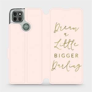 Flipové pouzdro Mobiwear na mobil Motorola Moto G9 Power - M014S Dream a little