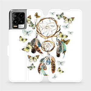 Flip pouzdro Mobiwear na mobil Realme 8 - M001P Lapač a motýlci