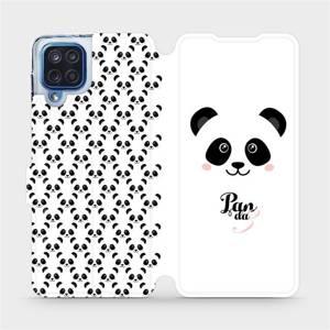 Flipové pouzdro Mobiwear na mobil Samsung Galaxy M12 - M030P Panda Amálka