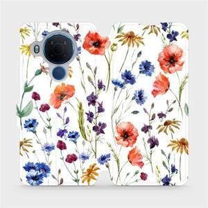 Flip pouzdro Mobiwear na mobil Nokia 5.4 - MP04S Luční kvítí