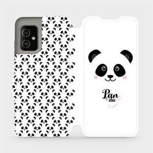Flip pouzdro Mobiwear na mobil Asus Zenfone 8 - M030P Panda Amálka