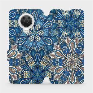 Flip pouzdro Mobiwear na mobil Nokia G20 - V108P Modré mandala květy