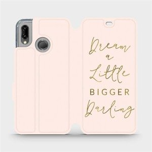 Flipové pouzdro Mobiwear na mobil Huawei P20 Lite - M014S Dream a little