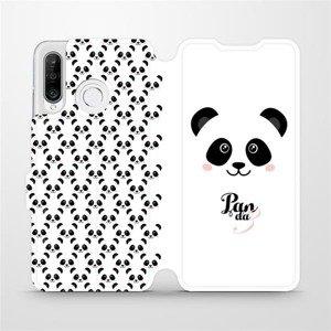 Flipové pouzdro Mobiwear na mobil Huawei P30 Lite - M030P Panda Amálka
